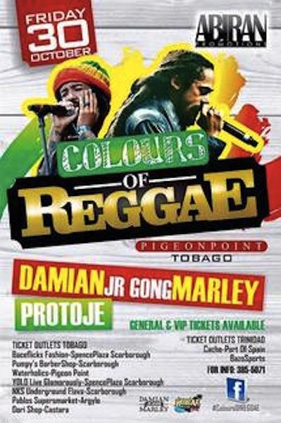 Colours of Reggae