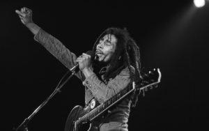 Bob Marley Live Shot