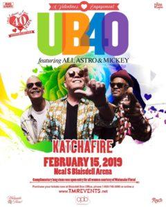 UB40 in Hawaii