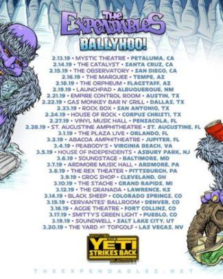 Yeti Strikes Back Tour