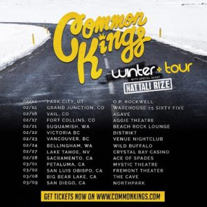 Common Kings Winter Tour '19