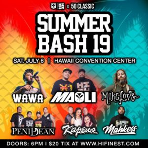 Hawaiis finest Summer Bash