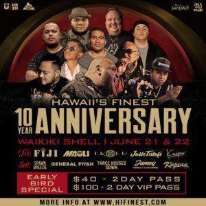 HiFI 10 Year Show
